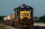 CSXT A779 w/Q178's Train