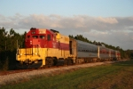 Inland Lakes Dinner Train