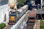 P923/James E Strates Carnival Train