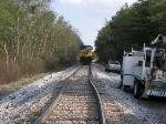 CSX 323 bent rail