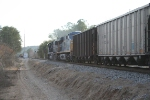 CSX 4575 N261 sb with a Clear block ne