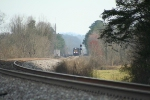 CSX 8532 Q540 03 nb at fairy waitin 4 a signal
