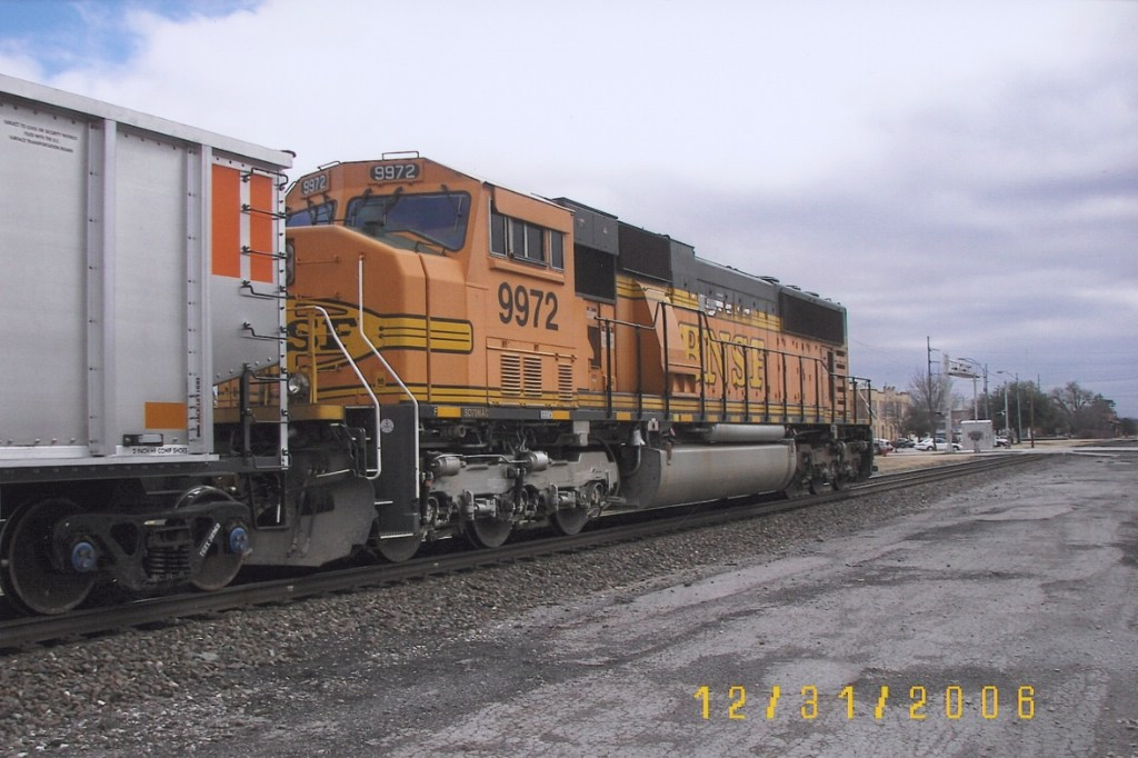 BNSF SD70MAC 9972