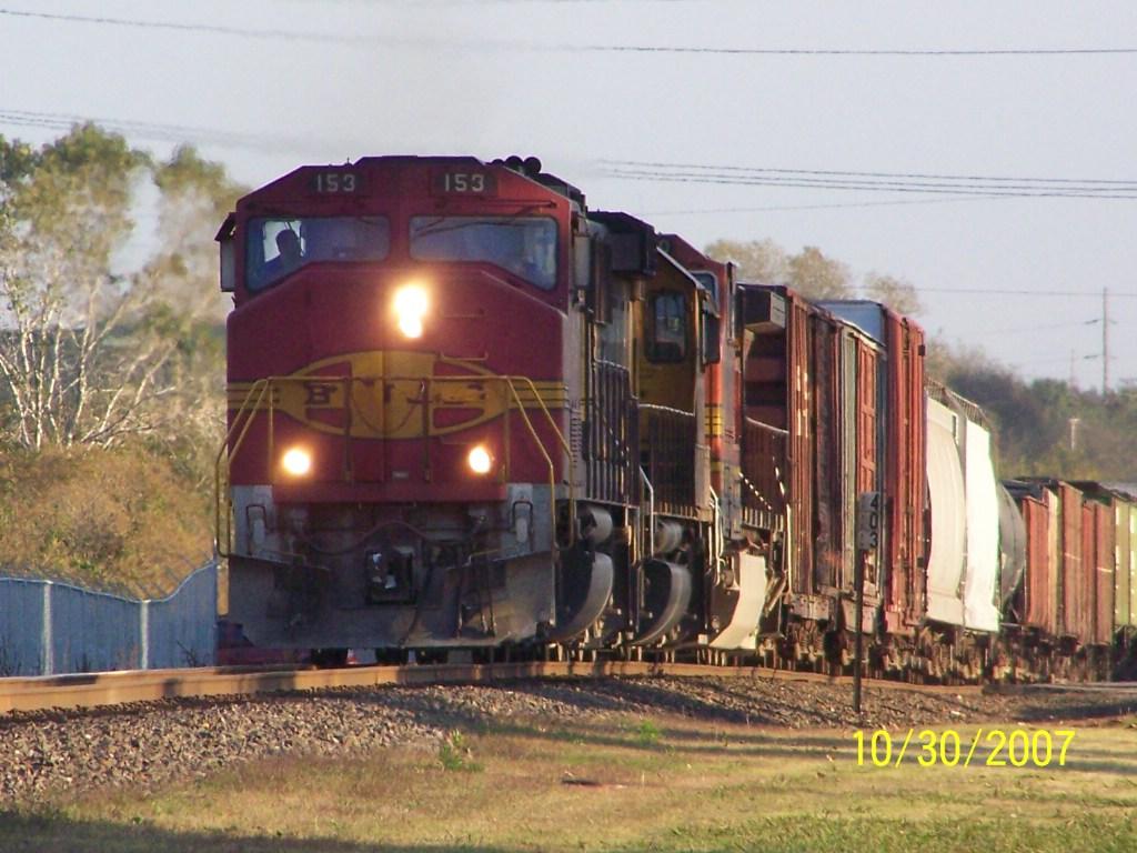 BNSF GP60M 153