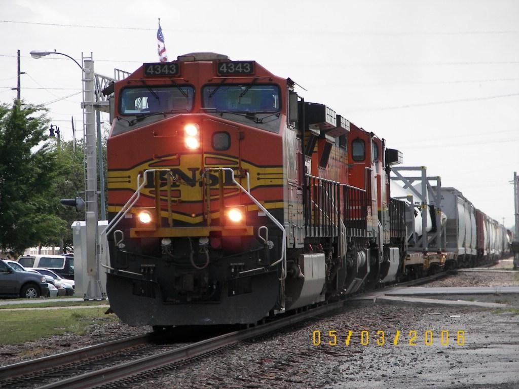 BNSF C44-9W 4343