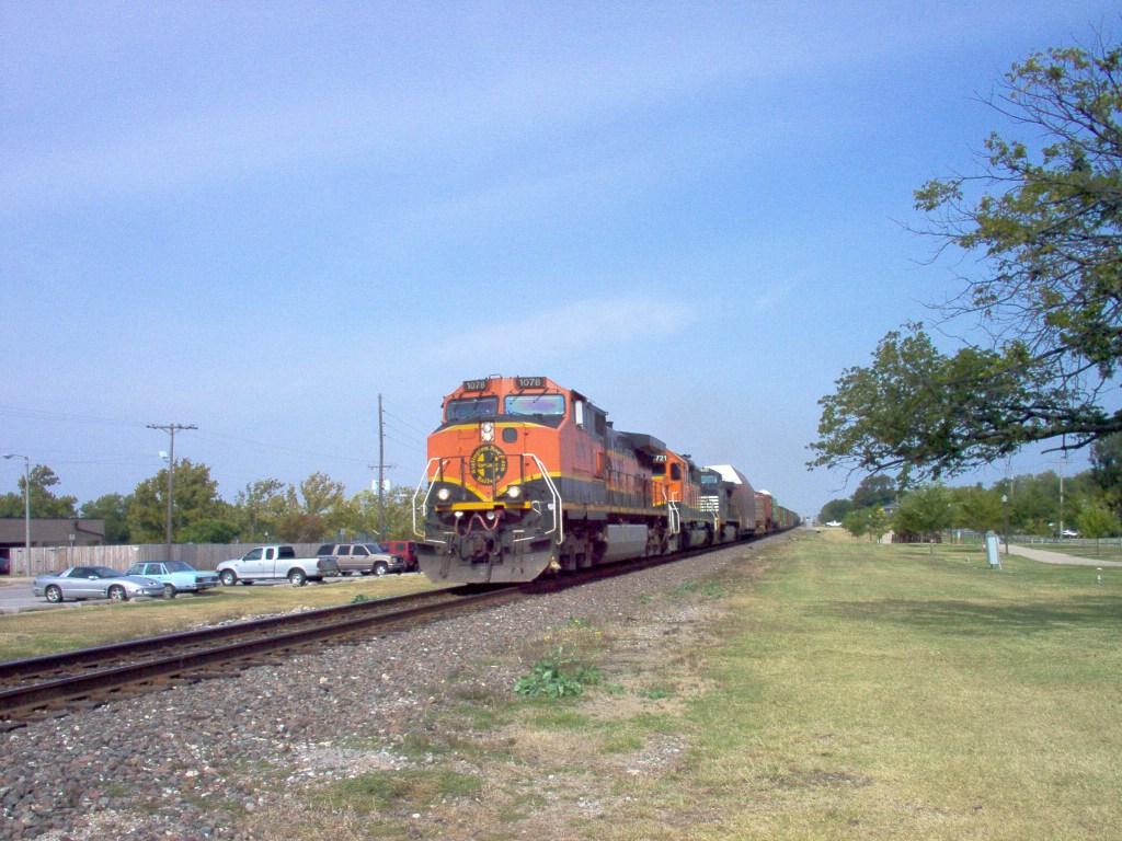BNSF C44-9W 1078