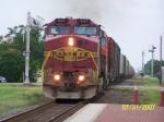 ATSF C44-9W 637