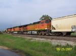 BNSF C44-9W 4467