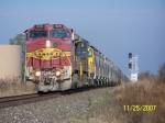 BNSF C40-8W 929