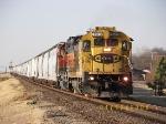 Southbound Empty Plastics Train