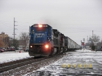 Northbound Loaded Plastics Train