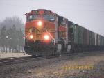 Northbound Empty Grain Train