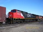 CN C44-9WL 2604