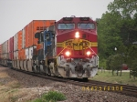 BNSF C44-9W 727