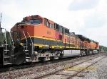 BNSF C44-9W 961
