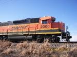 BNSF GP38-2 2000