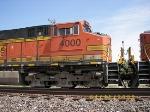 BNSF C44-9W 4000