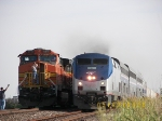 Amtrak and Intermodal Train