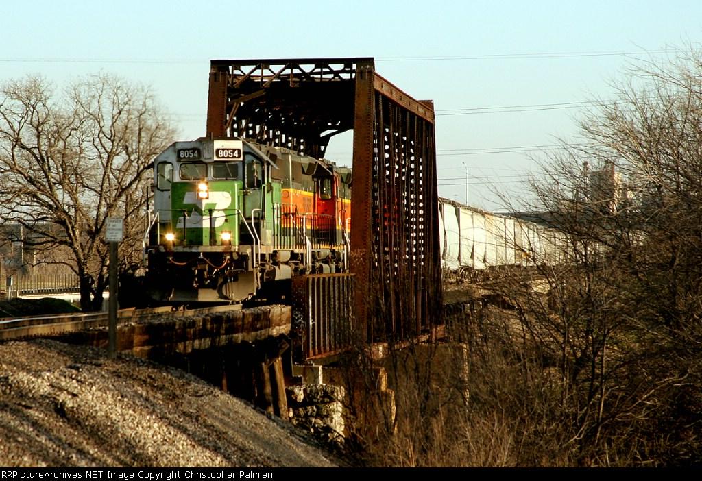 BNSF 8054
