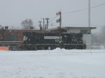 NS 5103 sitting out in the snow