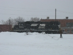 NS 5343 in the snow