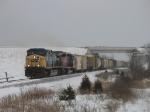 Q335 pulling westward