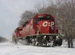 CP 6017 & 6001 leading X500 around the curve