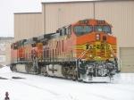 BNSF 5616 & 5713