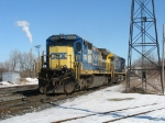 CSX 7565 & 209 heading out as D801