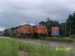 BNSF C44-9W 5102 & BNSF C44-9W 4583