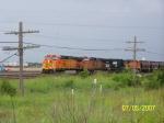 BNSF C44-9W 4136