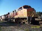 BNSF ES44DC 7662