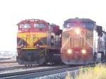 KCS SD70ACe 4037 & UP C60AC 7342