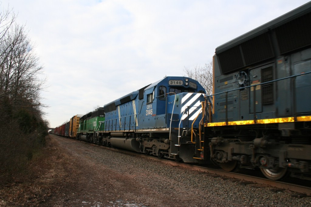 Trailing Engines on Q418