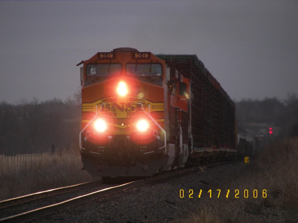 BNSF C44-9W 5049