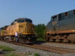 CSX 5217 has a meet and greet