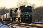 NS 9026 heads for Elkhart Yard