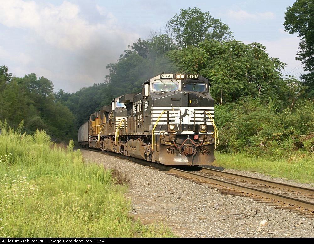 H76 portland coal empties