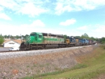 FURX 3045 leads a nice set of all EMD 40-2's