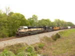 BNSF 9425 leads three class ones