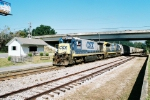 CSX M735 and Amtrak Shelter