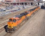 A Yellow BNSF Wedge
