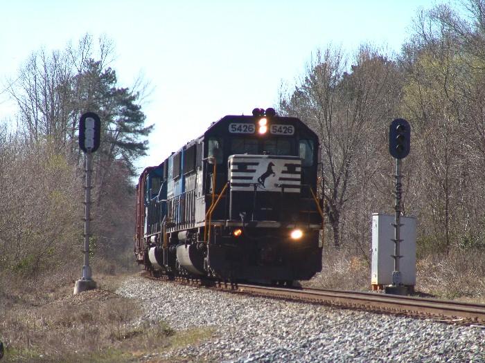 NS 5426 splitting the signals