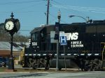NS 5516 checking the time