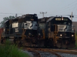 NS 4631 & NS 3273 working side by side