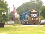 NS 1643 passing through