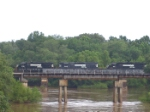 NS 5506 crosses the Flint River