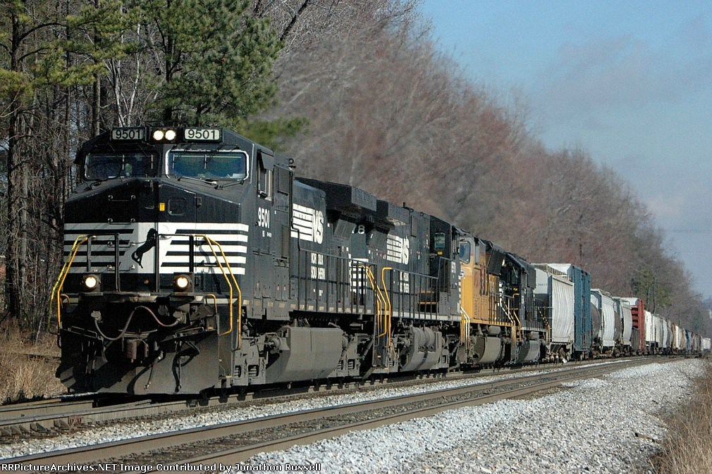 NS 9501 leads NS-135