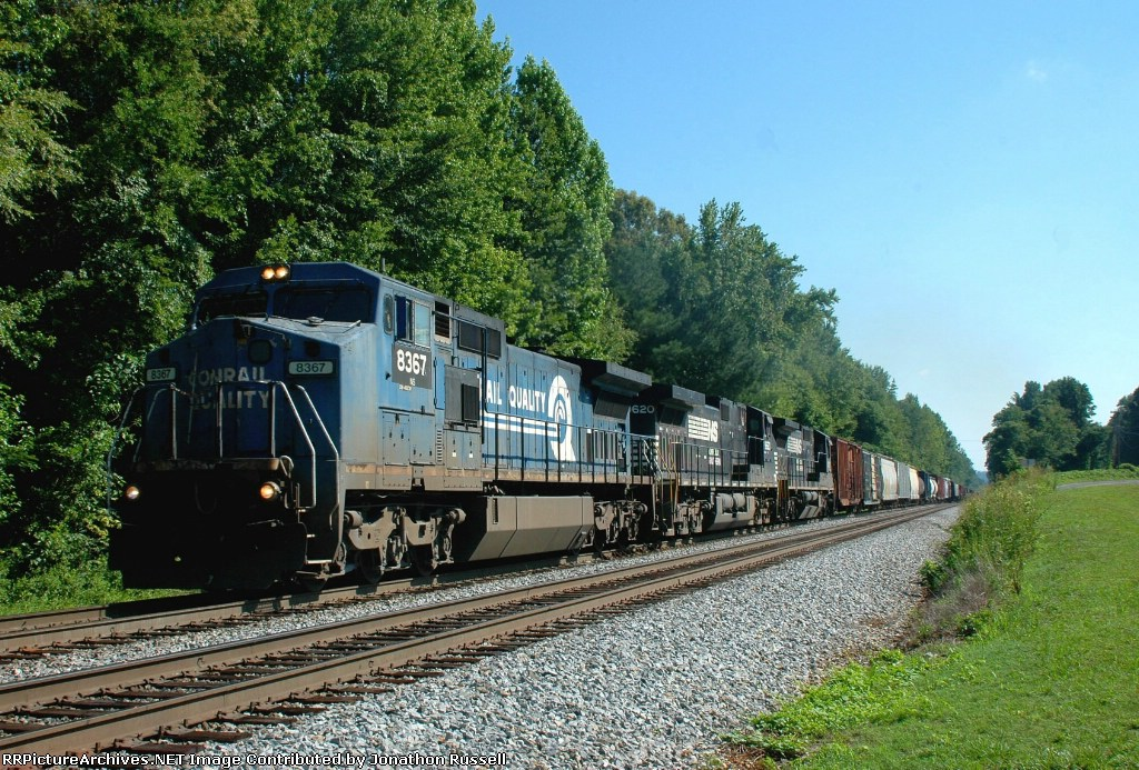 NS 8367 leads NS-135