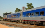 NC 1755 leads Amtrak-74